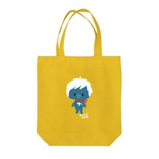 ぶさおくん Tote bags