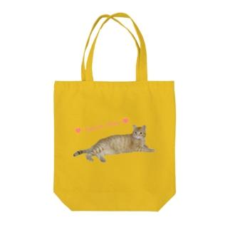 チャトラまったり🐾(さくら猫) Tote bags