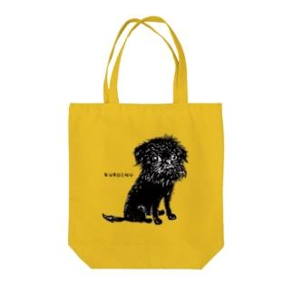 KUROINU Tote bags