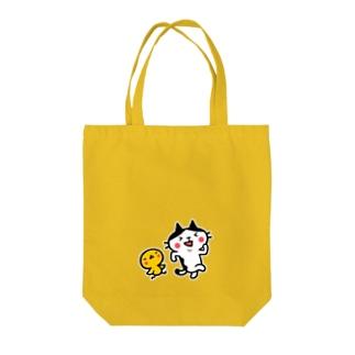 ネコぴよ トートバッグ Tote bags