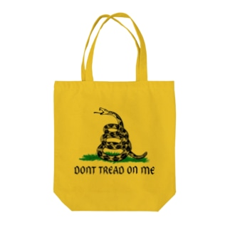 Dont Tread On Me Gadsden Flag Tote bags