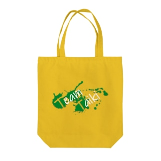 TEAM TAIKI_splash Tote bags