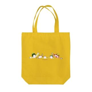 ココネットあおもりファミリー Tote bags