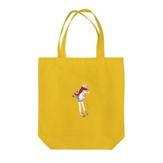 メ・アケテネル Tote bags
