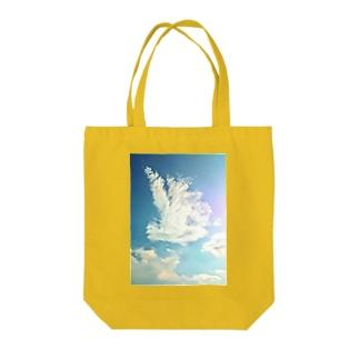 純白の鳳凰 Tote bags