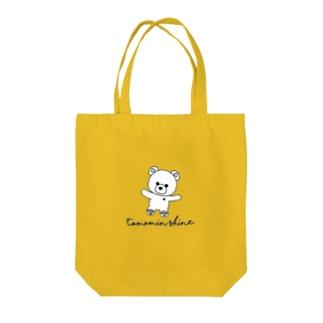 くまさん🧸バッグ(色選択) Tote bags