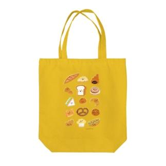 ぱんず Tote bags