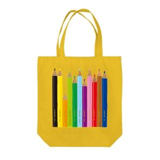 gorozomachine_storeの色鉛筆 Tote Bag