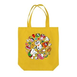 gangu(ちりばめ◎) Tote bags