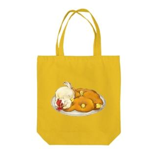 ひよこ豆カレー Tote bags