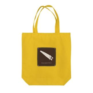 カーペンター Tote bags