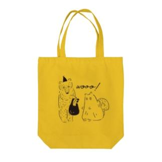 おばけパーティー Tote bags