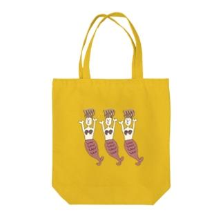 シュールな人魚姫(ナチュラル) Tote bags