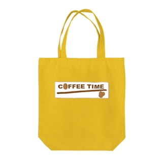 COFFEE TIME Tote bags