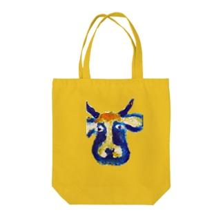 牛のくん Tote bags