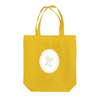 tiny angel Tote bags