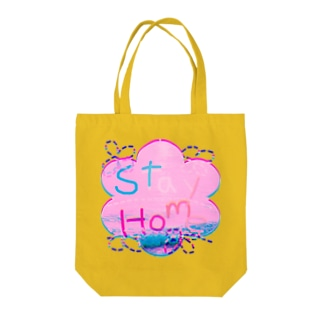 Stayhomeな気分でやべっ!(笑) Tote bags