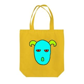 mogrus Goods shopの謎トート Tote bags
