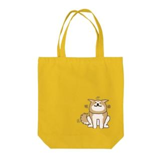 あっあっあきた犬(ニコニコ) Tote Bag