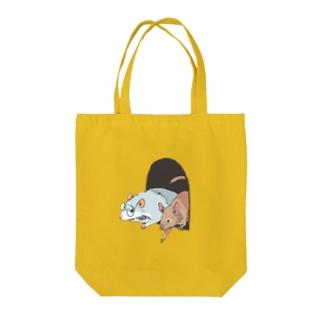 脱走作戦 Tote bags