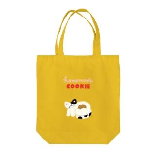 homemade COOKIE Tote bags