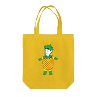 ピッグパイナポー星人 Tote bags