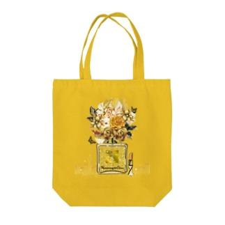 アンドアイデザイン 数秘&カラー🄬オマージュボトルNo8&GOLD Tote bags