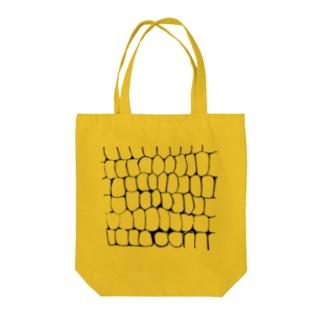 corn黒 Tote bags