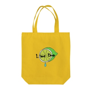 Lime Drop Tote bags