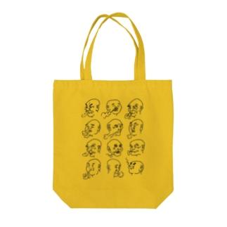 Edo Manga Tote bags