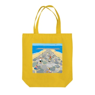 湘南ランドスケープ05:茅ケ崎ヘッドランド Tote bags