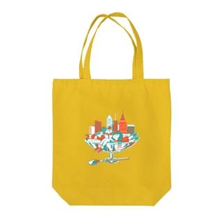 甘い都会 Tote bags