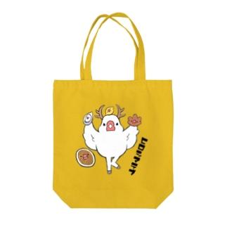 鹿ぶんちょう~ヒロシマラブ~ Tote bags