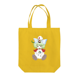 七枝工房SUZURI支店『EUCATOLIDES』のコンパス人形 Tote bags