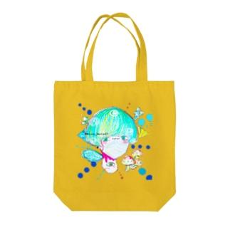 毒胞子 Tote bags