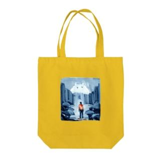 出口えりの街の怪物 Tote Bag