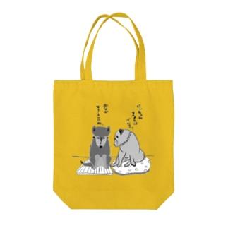 ごんにいちゃん&ももたん Tote Bag