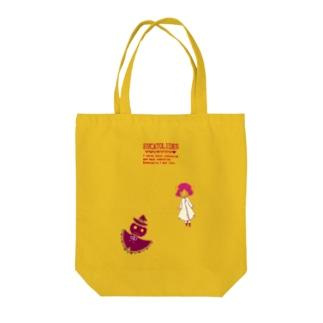 『かぼちゃおばけと羊娘』 Tote bags