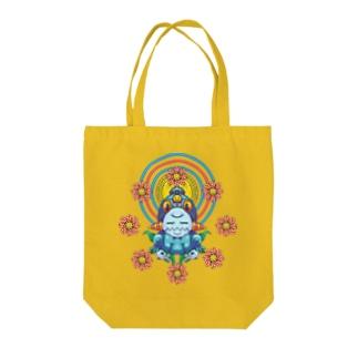 聖観音(閻魔大王) Tote bags