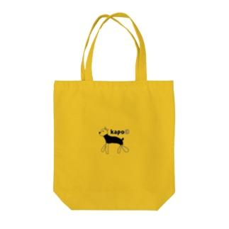 ヨーキーのモンちゃん Tote bags