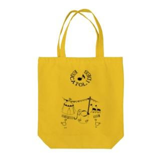 てくてく歩く_音楽 Tote bags