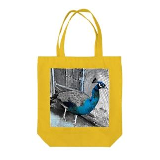 フライト☆クジャク Tote bags