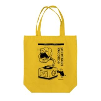 ぴちくりレコーズ(オカメインコ・文鳥) Tote bags