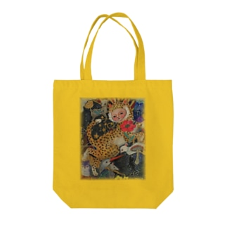 lucky cat Tote bags