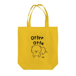 otter! Tote bags