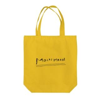 MOINMOIN Tote bags