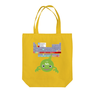 GECKO-SO-SINGのニホニウムくん Tote bags