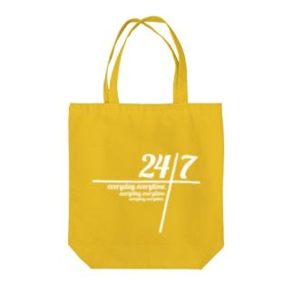 24/7 -twenty-four seven- トートバッグ