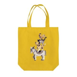 ブレーメンの音楽隊 Tote bags