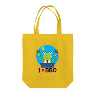 BBQ大好きかえるさん Tote Bag